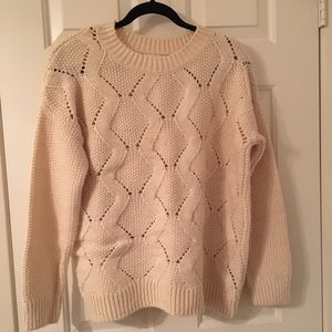 H&M chunky oversized pullover sweater